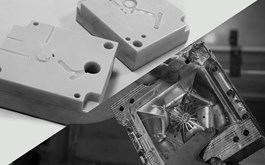 3d printed mold compared to metal tooling