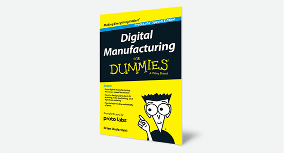 Digital Manufacturing for Dummies book image