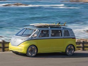 Electric volkswagen bus