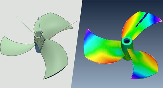 CAD-to-Scan comparison