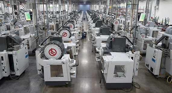 Protolabs production machining facility