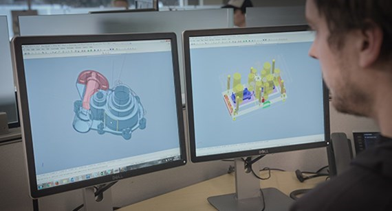 Analyzing a 3D CAD for manufacturing