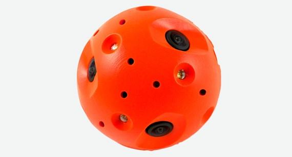 Overmolded Polycarbonate Ball