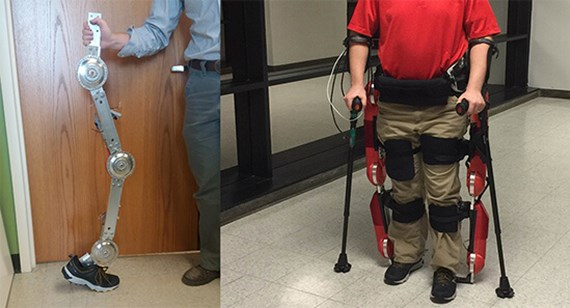 Researchers demonstrate exoskeleton