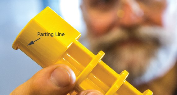 Manufacturing Workmanship Standards Flash At Parting Lines