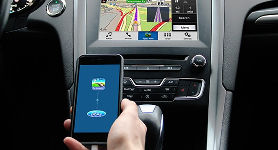 ford sygic gps app