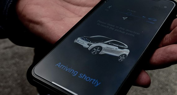bmw smartphone summon app