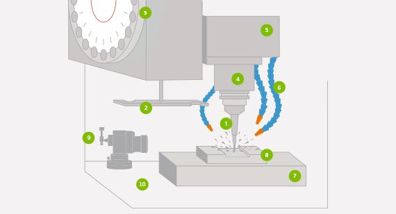 cnc milling process illustration