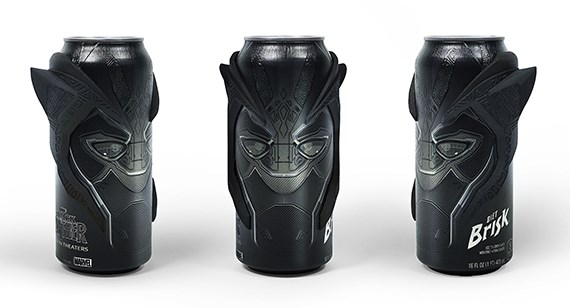 Black Panther 3D printed water can