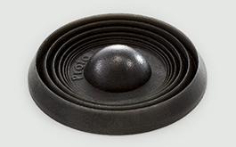 black 3d printed polyjet prototype