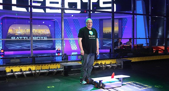 Hal Rucker on Battlebots with DUCK!