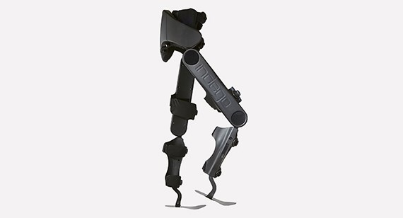 The Indego is a robotic exoskeleton designed to help patients with lower limb paralysis walk again. During development, Parker Hannifin used Protolabs to quickly test design improvements.