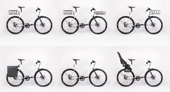 EVO bicycle configurations