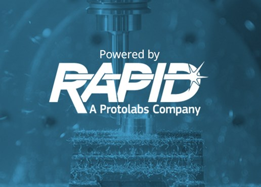 cnc machining 5 axis milling powered by RAPID a Protolabs company