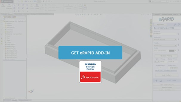 eRAPID ADD-IN quote button