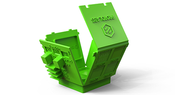 green protolabs design cube design aid