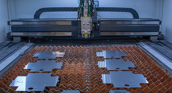 laser cut sheet metal parts