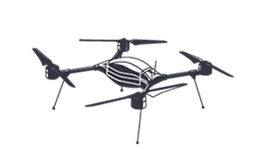 aerial drone icon representing the aerospace and defense industry that protolabs serves