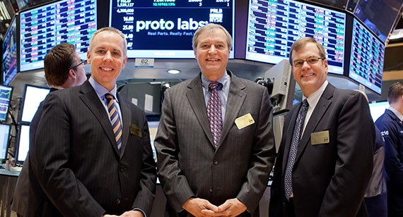 Protolabs on the NYSE