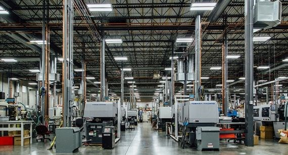 Injection molding manufacturing facility