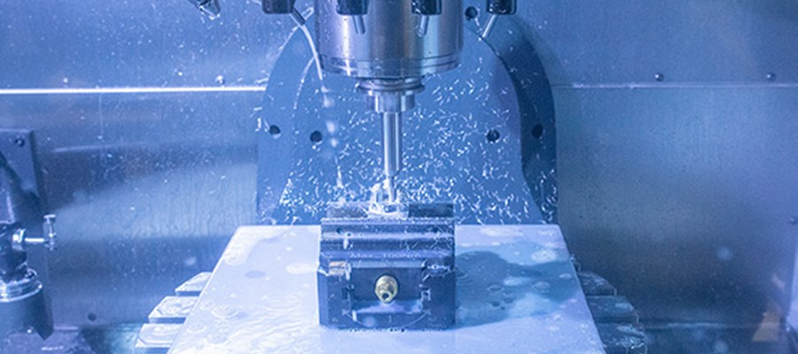 CNC machine factory floor