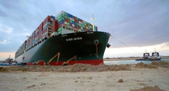 Suez Canal ship blockage