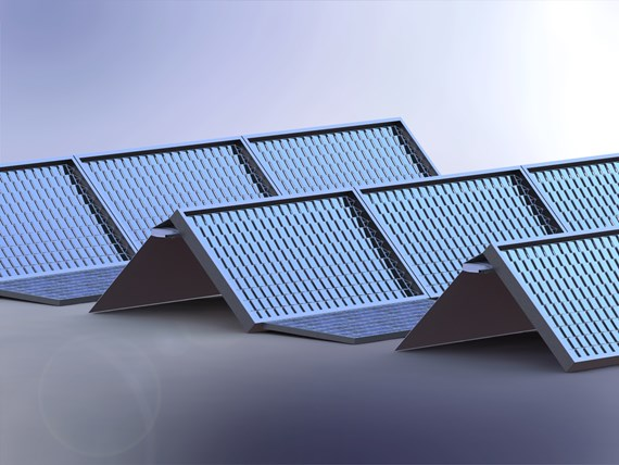 Skyven solar panel system with optical mirror technology