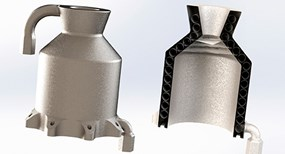 Metal 3D Printing Part for Aerospace Rocket