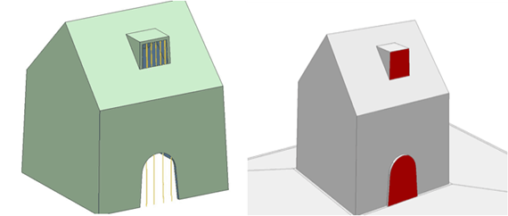Illustration of molding a box