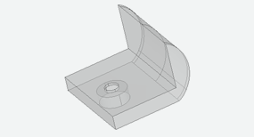3D CAD model of the SHARC tool