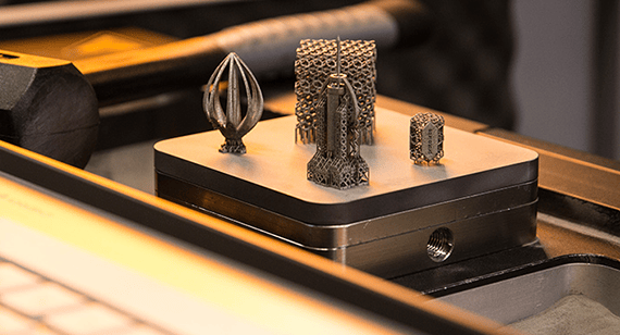 Our 3D printing service uses direct metal laser sintering to produce metal parts