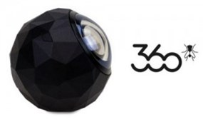 Compact 360fly camera
