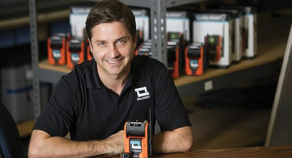 image of Chris Boyle founder and owner of Soloshot