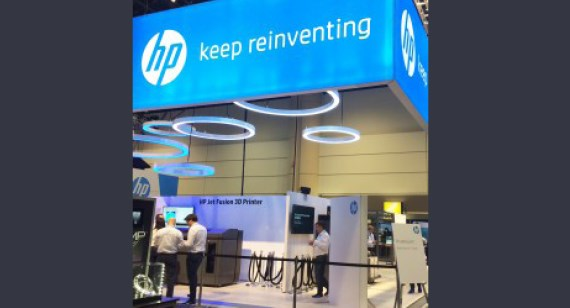 HP launches new 3D printing technology